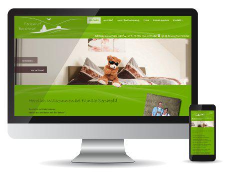 Referenz-Webseite und Logoentwicklung Berchtold