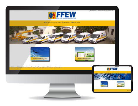 Referenz-Webseite FFEW