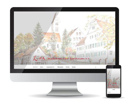 Referenz-Webseite Musikverein