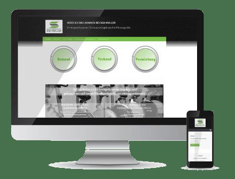Wordpress-Seite SGH